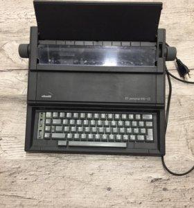 Электронная печатная машинка olivetti 510