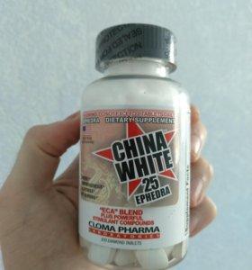 China White 25 Ephedra жиросжигатель