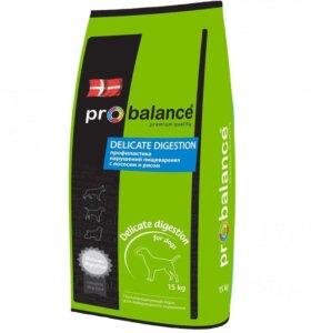 Корм ProBalance Delicate с лососем 15 кг