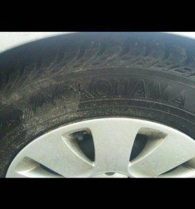 Комплект колёс бмв зимние