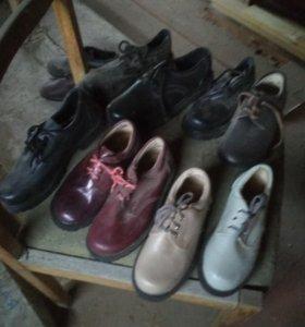 Ботинки,туфли,(зимние)