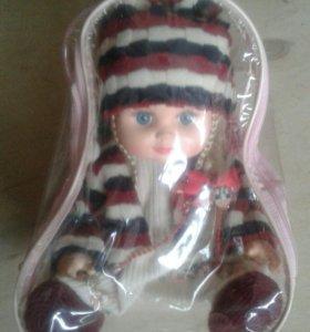 Кукла в рюкзачке