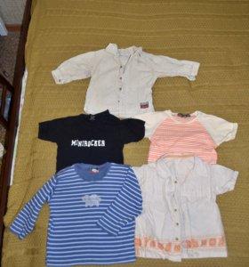 Детские вещи пакетом 12-24+ месяцев, 25 предметов