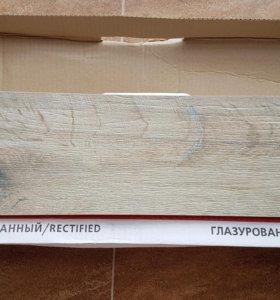 Керамогранит 15×60×1см серо-бежевый матовый