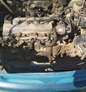 Двигатель б/у Nissan micra k 11