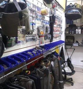 Розничный рыболовный магазин+интернет магазин