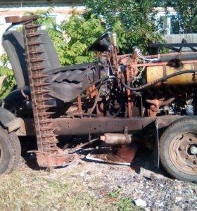 Трактор-косилка(самодельный)