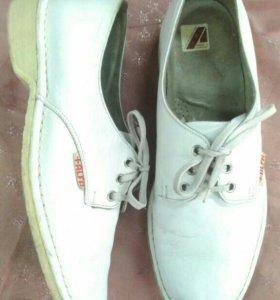 Размер 43 мужские кожаные туфли полуспорт