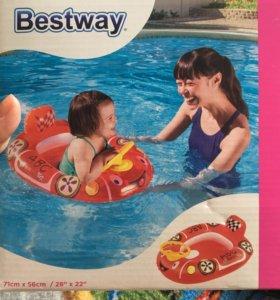 Круг для купания от 1 года до 2
