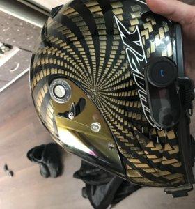 Шлем, мотоботы