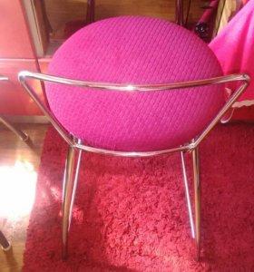 4 барных стула из нержавейки