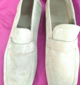 Новые замшевые туфли ZAPA последняя пара