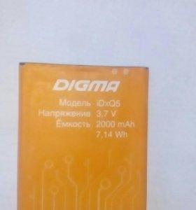 Аккумулятор DIgma IDxQ5