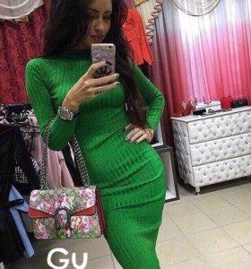 Новое платье лапша с люрексом