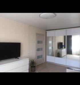 Квартира, 1 комната, 33.9 м²