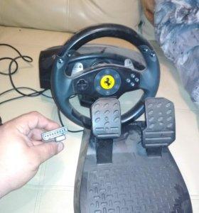 Ferrari GT 2in1 rumble force racing wheel