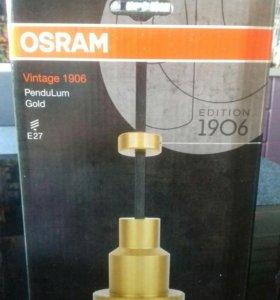 Ретро светильник+лампа Osram