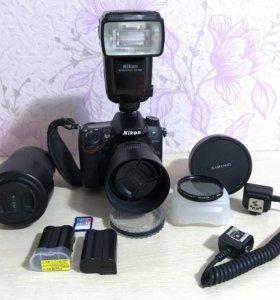 Nikon d7000 и аксессуары