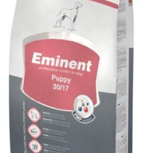 Корм Eminent для щенков мелких и средних пород