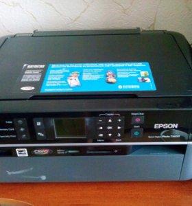 Цветной Принтер,сканер,копир.