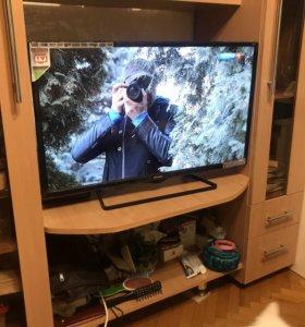 Телевизор со смартом почти новый telefunken 32 д