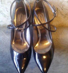 Туфли лакированные 37р