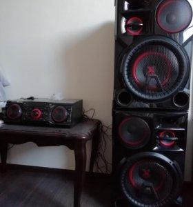 Аудио аппаратура актив марка LG