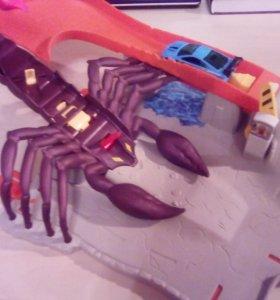 HotWheels атака на скорпиона