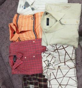 Мужские рубашки, костюм, брюки