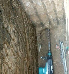 Прокол дороги,под канализацию и воду