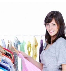 Продавец в магазин итальянской одежды