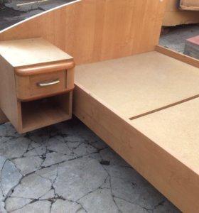 Кровать односпальная Мебель Черноземья