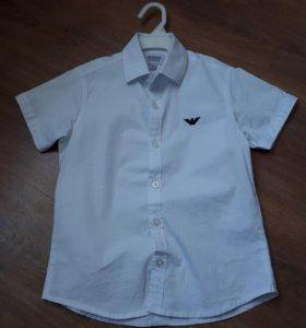 Рубашка 116 см белая