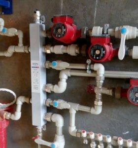 МОНТАЖ.Отопление.водопровод