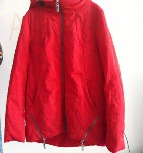 Куртка осенняя, бу, идеальное состояние