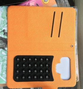 Чехол-книжка для телефона новый с коробкой