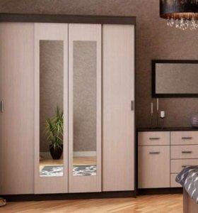 комплект мебели мега для спальни от тхм