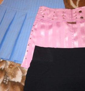розовая и черная талия 70 см.,голубая - 66 см...