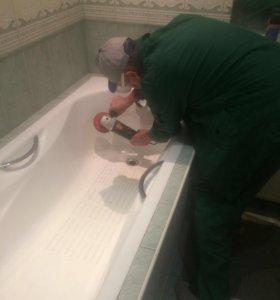 Эмалировка ванн раковин поддонов