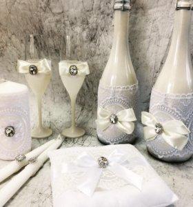 Декор свадебных аксессуаров и других изделий
