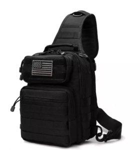 Однолямочная сумка- рюкзак