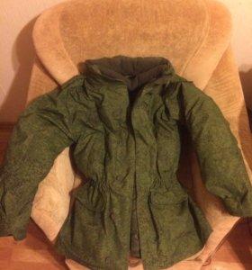 Военный бушлат/-куртка + зимние штаны новые