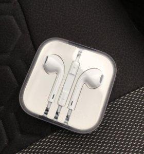 Наушники Apple оригинал новые