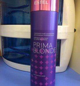 Эстель прима Блонд антижелтый шампунь Новый