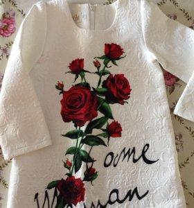 Платье для девочки, р100
