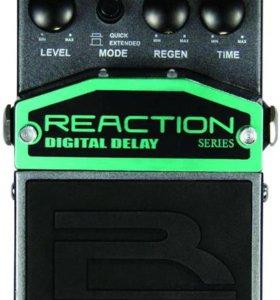 Педаль reaction digital delay