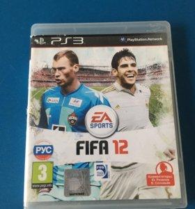 Продам игру fifa 12 для ps3