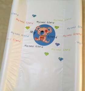 Доска пеленальная на кроватку плюс подарок