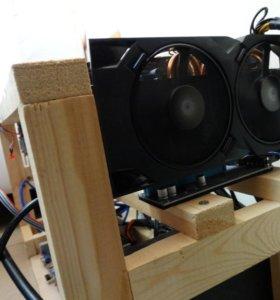 Ферма для майнинга Radeon RX 470