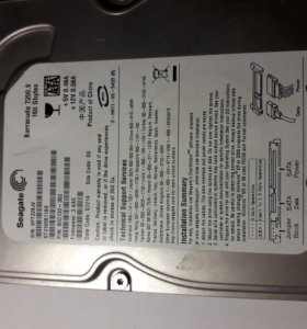 Жесткий диск Seagate 160Gb